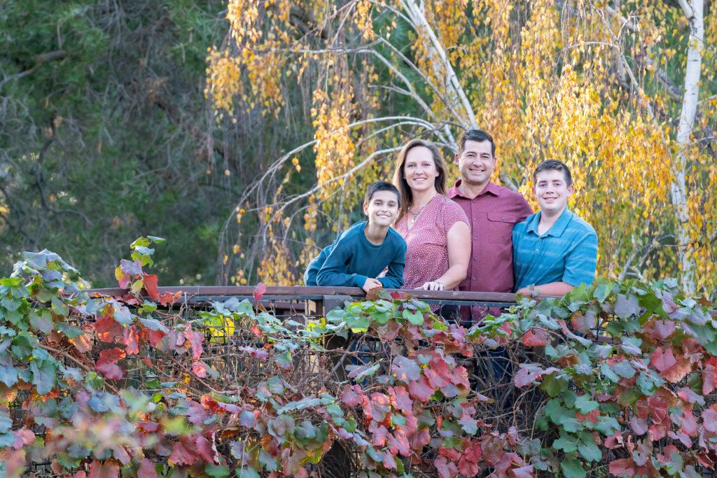 UC Davis Arboretum Family Portrait